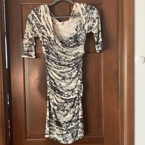 Authentic Draped DVF dress Size 4